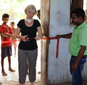 offrir une formation professionnelle pour filles en Inde inauguration