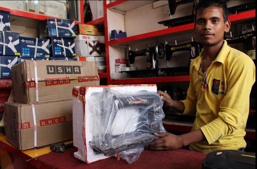 offrir une formation professionnelle pour filles en Inde marchand
