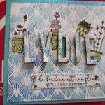 VDI en matériel créatif animatrice en scrapbooking couverture album chouponline
