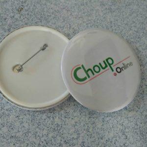 broderie personnalisée matériel de club gwendoline collection chouponline badge