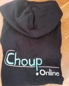 broderie personnalisée matériel de club gwendoline collection chouponline sweat