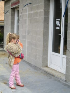 apprentissage du bénévolat chez les enfants chouponline chantier