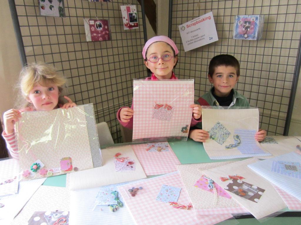 apprentissage du bénévolat chez les enfants chouponline stand