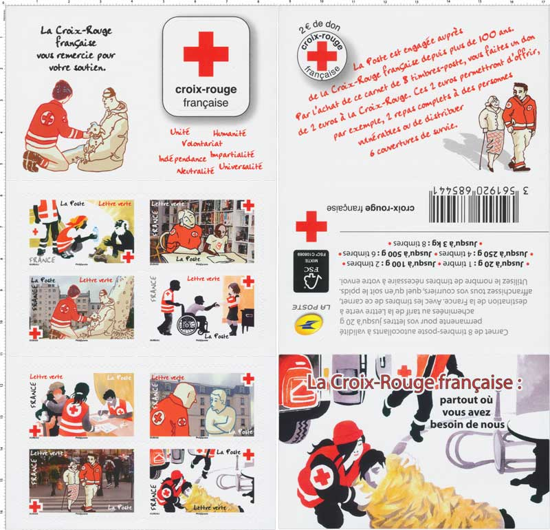 timbres solidaires aider la Croix-Rouge chouponline timbres 2