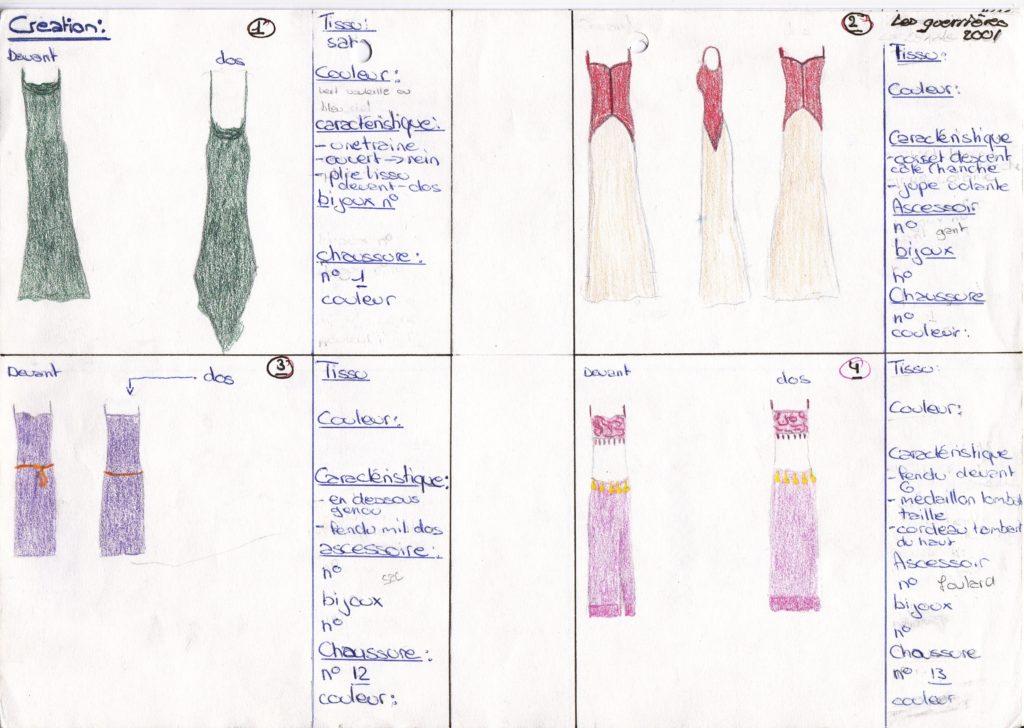 Customisation textile atelier couture lym doubleyou chouponline dessin lara