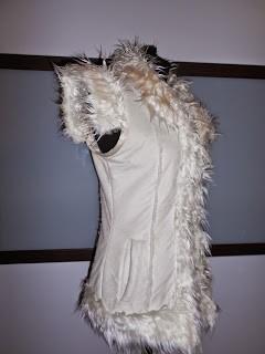 Customisation textile atelier couture lym doubleyou chouponline manteau changé en gilet
