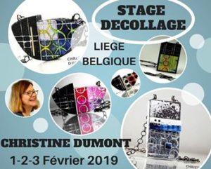 organiser un stage créatif animatrice internationale réputée partatart chouponline christine dumont