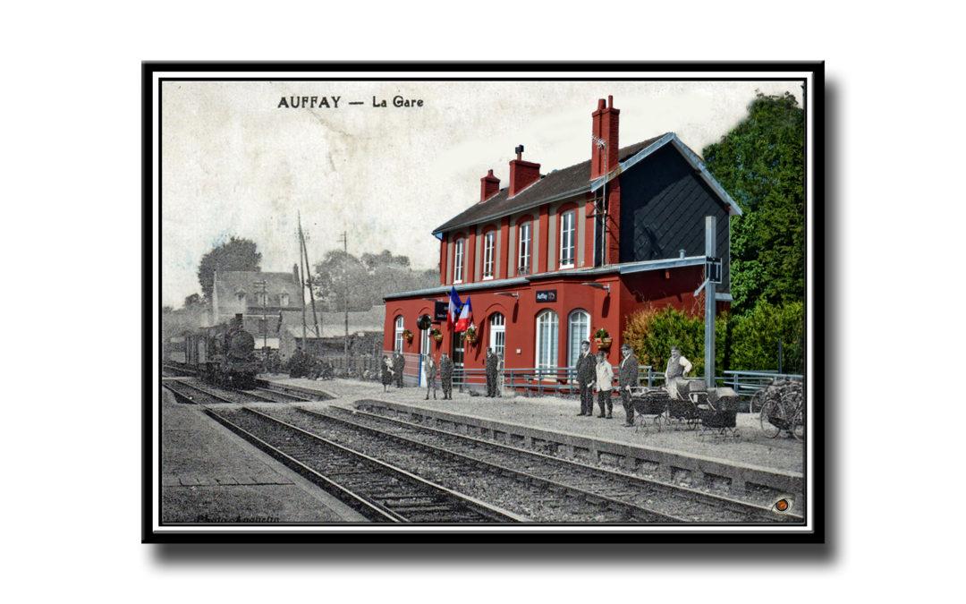 Expo photo thème des trains les 15 et 16 sept en gare d'Auffay