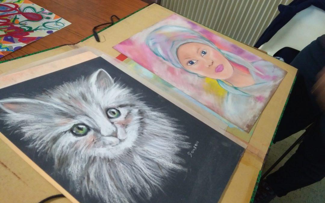 Club d'arts, dessin et peinture