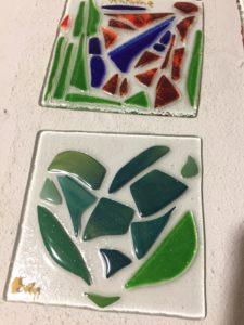 apprendre le travail du verre créatif verre la lumiere tassidite chassagny chouponline après cuisson