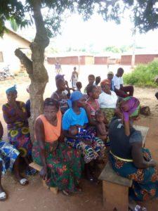 cagnotte pour un puits coopérative Kpodounou chouponline