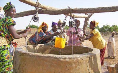 Un puits aménagé contre le problème de l'eau au Bénin
