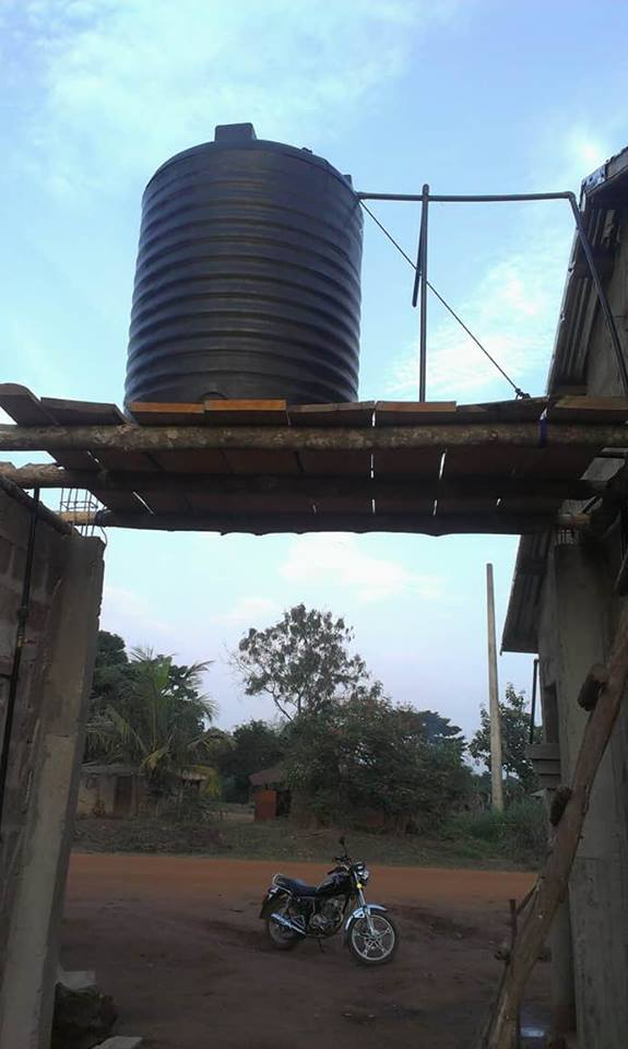 l'eau au benin puits aménagé puits non aménagé kposodo chouponline route d'acces au village