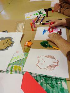 animer des ateliers creatifs en maison de retraite atelier tres chouette chouponline