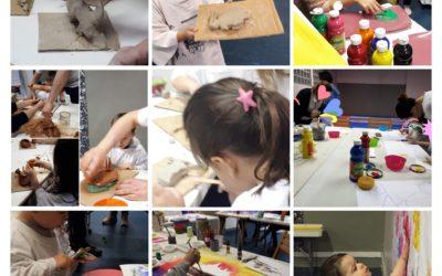 Des ateliers artistiques, créatifs et ludiques pour enfants seuls ou avec un adulte