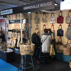 Entreprise solidaire salon made in France chouponline stand