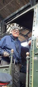 Améliorer communication association Pacific Vapeur Club chouponline conducteur de train ancien