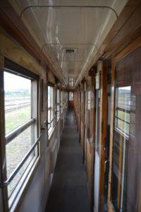Améliorer communication association Pacific Vapeur Club chouponline couloir de wagon