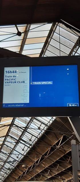 Améliorer communication association Pacific Vapeur Club chouponline train spécial